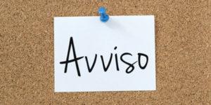 Immagine Avviso